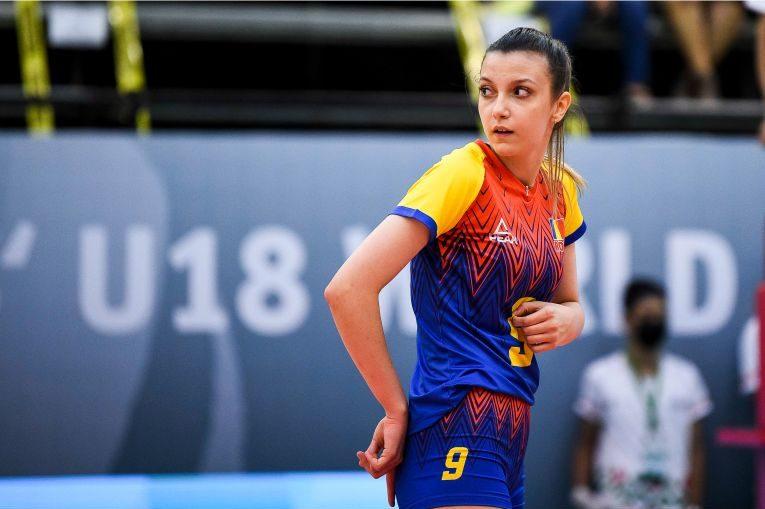Iarina Axinte, ridicătoarea naționalei României Under 18