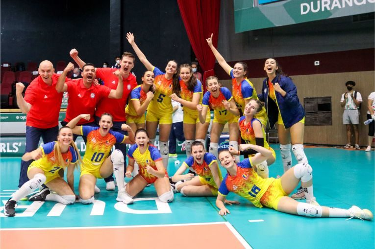 Naționala României s-a calificat în sferturile de finală ale Campionatului Mondial Under 18