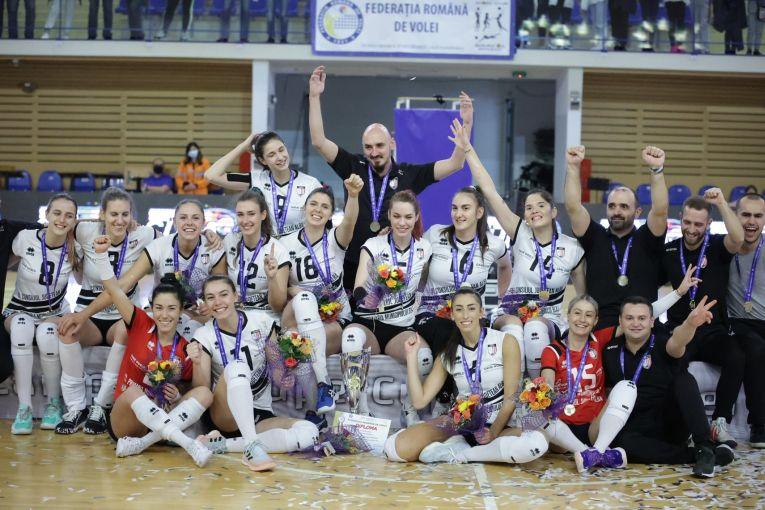 Volei Alba Blaj a cucerit Supercupa României 2021