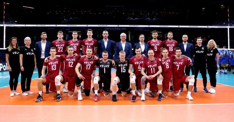 Naționala Letoniei a obținut prima victorie la Campionatul European