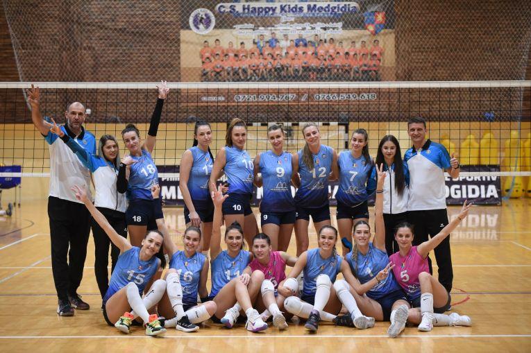 CS Medgidia, bucuria primei victorii din campionat