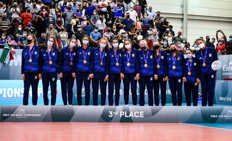 SUA, pe a treia treaptă a podiumului Campionatului Mondial U18 (f) - 2021