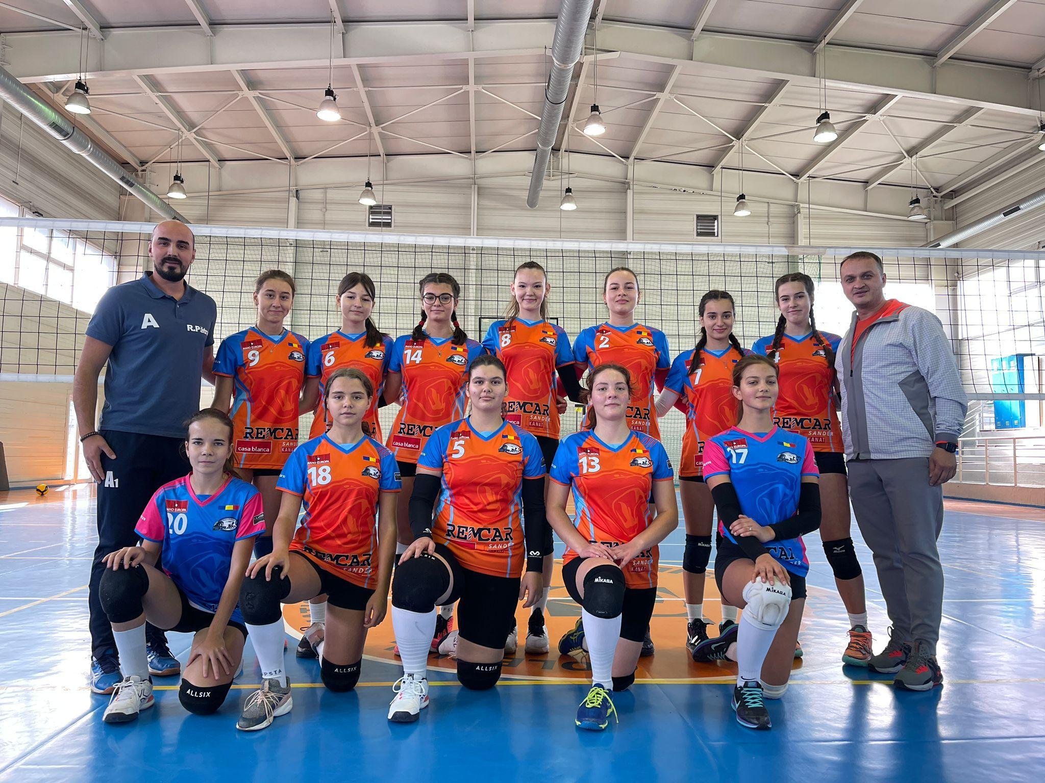 Echipa de cadete Bravol Brașov 2 pentru sezonul 2021/ 2022