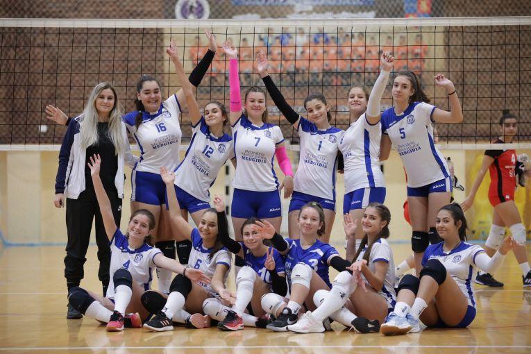 Echipa de cadete CS Medgidia după prima etapă a campionatului 2021/ 2022
