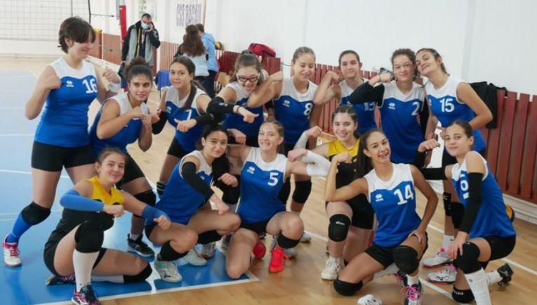 Echipa de cadete CSS Bacău după prima etapă a campionatului 2021/ 2022