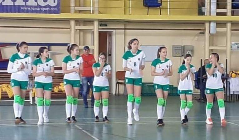 Echipa de cadete ACS Sport Plus Brăila înaintea meciului din prima etapă a campionatului 2021/ 2022