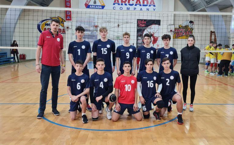 Echipa de cadeți Arcada Galați, pentru sezonul 2021/ 2022