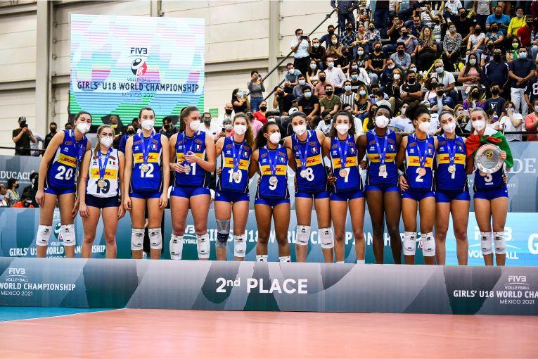 Italia, pe a doua treaptă a podiumul Campionatului Mondial U18 (f) - 2021