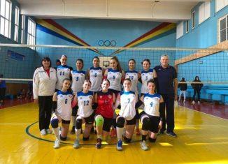 Echipa de volei junioare LPS Piatra Neamț pentru sezonul 2021/ 2022