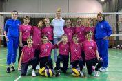 Echipa de minivolei a Academiei Pîrv 11 participă în premieră la campionat