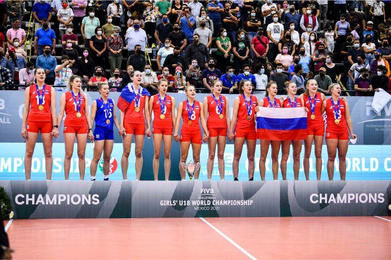 Rusia, pe prima treaptă a podiumul Campionatului Mondial U18 (f) - 2021