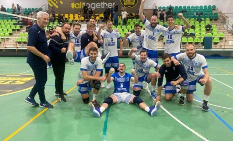 SCMU Craiova, după victoria obținută la București, cu Știința