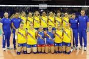 romania echipa volei feminin europene