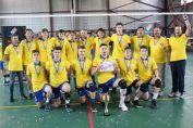 Tudor Constantinescu campion national volei cadeti CTF Mihai I