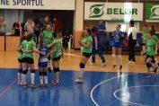 CSU Galați a promovat in Divizia A1 la volei feminin