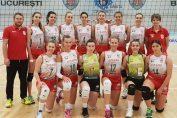 Echipa de volei junioare Dinamo s-a calificat in semifinalele campionatului national