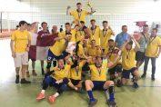 Bucuria noilor campioni de volei la juniori, jucatorii de la CTF Mihai I