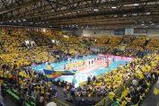 Sala de volei din Modenava fi plina de spectatori la fiecare meci