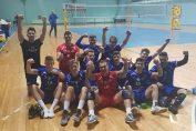 Volei Club Zalau si bucuria victoriei din prima etapa a Seriei Vest a Diviziei A2