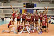 Alba Blaj si bucuria victorie in Liga Campionilor