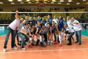 CSM Bucuresti, dupa victoria din Polonia, din prima etapă a Ligii Campionilor la volei feminin