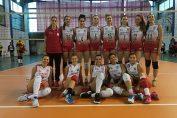 Echipa de volei junioare a clubului Dinamo