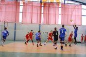 Tudor Constantinescu, setter of junior volleyball team CTF Mihai I Bucharest