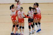 Dinamo si bucuria victoriei la volei feminin