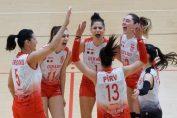 Bucurie Dinamo volei feminin