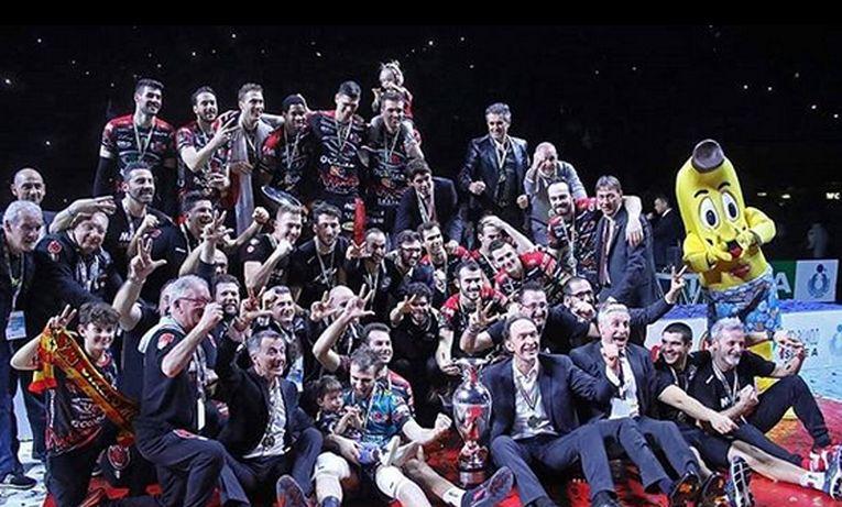 Sir Safety Perugia a cucerit Cupa Italiei la volei masculin