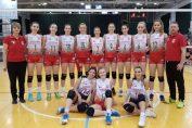 Echipa de junioare Dinamo, la turneul final