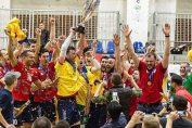 Arcada Galati a castigat primul titlu de campioană la volei