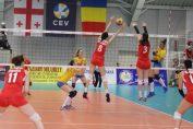 ariana pîrv in atac in meciul Romania - Georgia