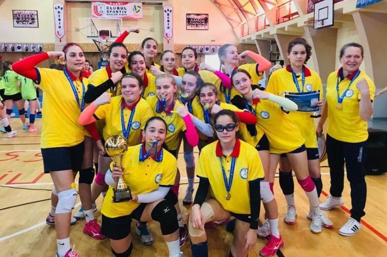 CSM București este campioana la volei sperante feminin
