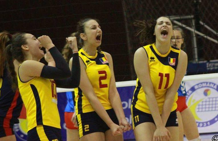 Nationala Under 16 a Romaniei s-a calificat la turneul final al Campionatului European