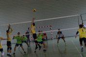 Tudor Constantinescu, romanian setter of CTF Mihai I volleyball youth team