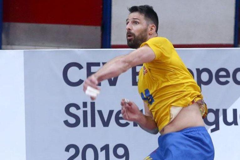 Căpitanul naționalei României, Laurentiu Lică, a fost desemnat pentru al patrulea an consecutiv voleibalistul anului 2019 de FRV