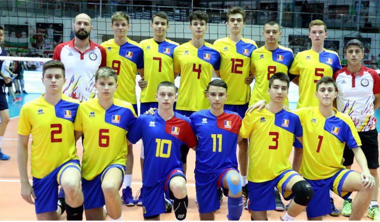 Naționala masculină Under 17 a Romaniei, la Campionatul Balcanic