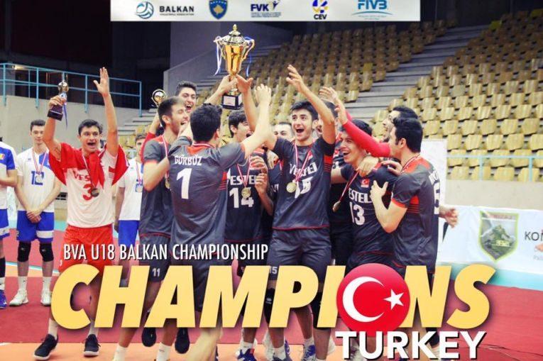 Turcia a devenit noua campioana balcanica Under 18