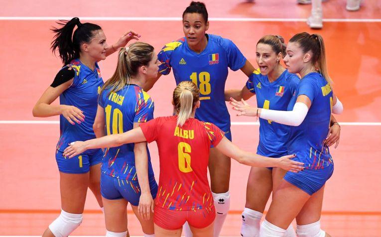 Bucuria fetelor noastre în victoria contra Estoniei la Campionatul European