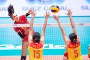 Alexia Căruțașu, în atac contra Chinei, la Campionatul Mondial U18
