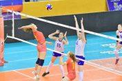 Francesca Alupei in atac contra Rusiei la Campionatul Mondial U18