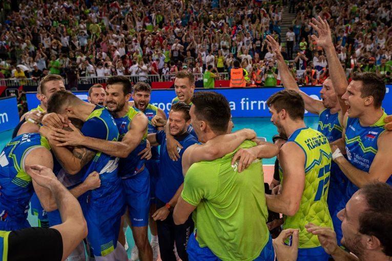Slovenia s-a calificat pentru a doua oară în finala Campionatului European masculin de volei