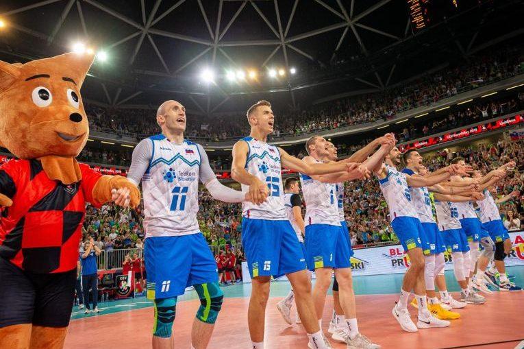Nationala Sloveniei s-a calificat pentru a doua oară în semifinalele Campionatului European