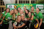 Belor Galati s-a calificat in sferturile de finala ale Cupei Romaniei la volei feminin