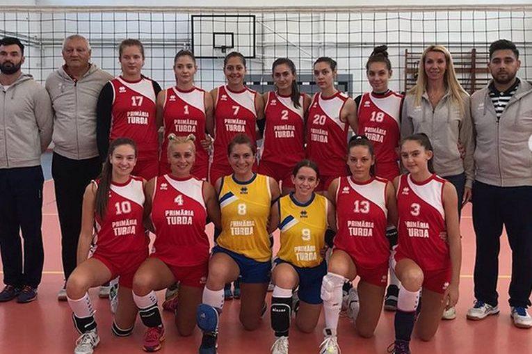Echipa Volei Turda, al carei manager este Cristina Pirv, e gata de debutul în Divizia A2 la volei