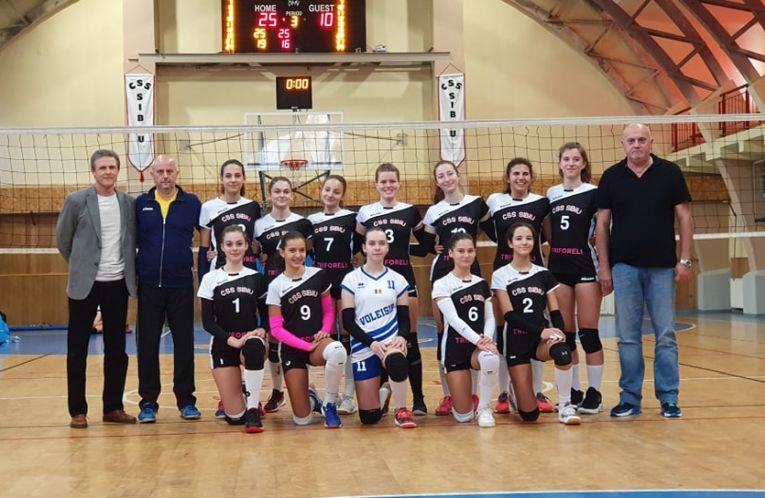 Echipa de cadete CSS Sibiu, pentru campionatul 2019/ 2020