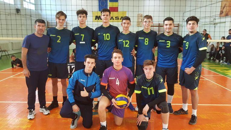 Echipa de cadeți LPS Bihorul Oradea pentru campionatul 2019/ 2020
