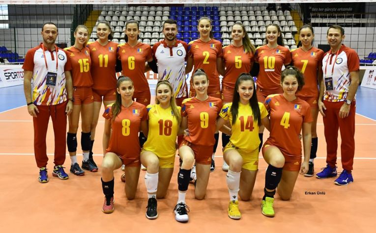 Nationala feminină U17 a Romaniei la turneul balcanic de calificare la Campionatul European