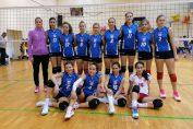Echipa feminină de sperante Dinamo, in cel de-al doilea turneu al campionatului 2019/ 2020